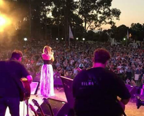 Jade Holland at Tamworth Country Music Festival